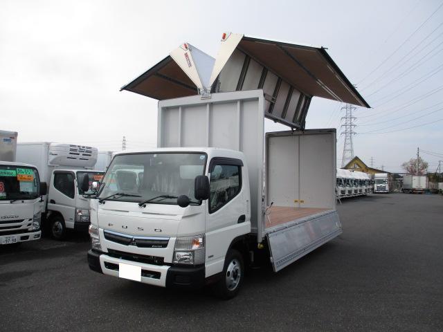 三菱 キャンター 小型 ウイング TPG-FEB50 H31/R1|トラック 左前画像 トラックバンク掲載