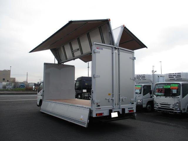 三菱 キャンター 小型 ウイング TPG-FEB50 H31/R1|フロントガラス トラック 画像 トラック王国掲載