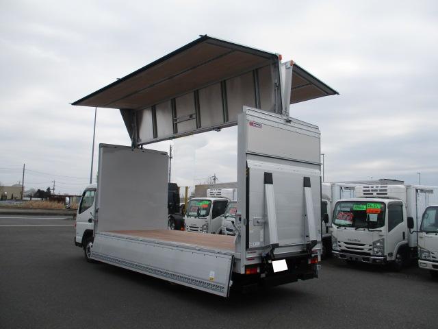 三菱 キャンター 小型 ウイング パワーゲート TPG-FEB50 積載 2t トラック 画像 ステアリンク掲載