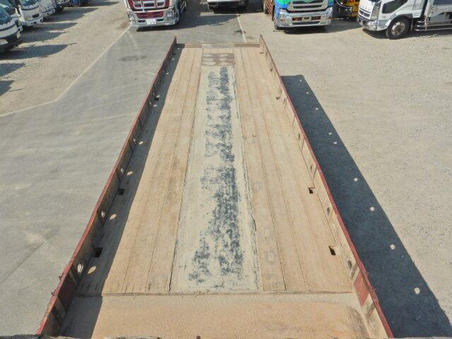 日産UD ビッグサム 大型 車輌重機運搬 ベッド KL-CW55J|フロントガラス トラック 画像 トラック王国掲載