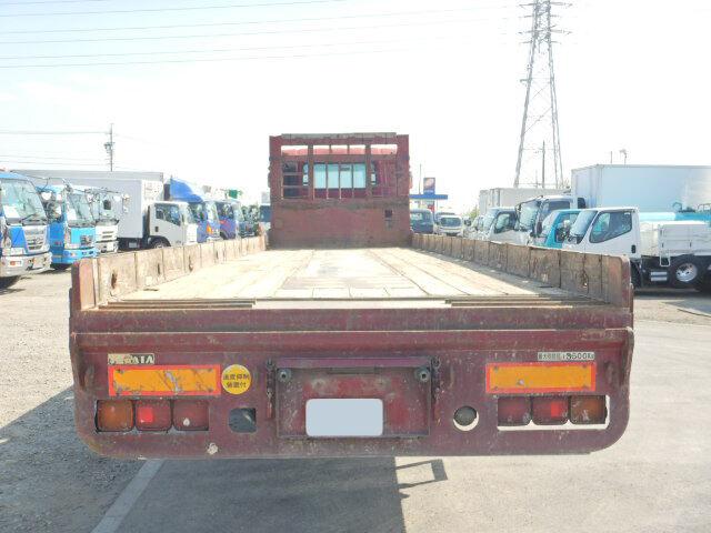 日産UD ビッグサム 大型 車輌重機運搬 ベッド KL-CW55J|トラック 背面・荷台画像 トラック市掲載