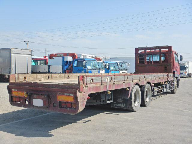 日産UD ビッグサム 大型 車輌重機運搬 ベッド KL-CW55J|トラック 右後画像 リトラス掲載