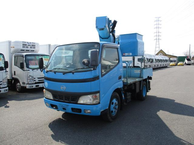 高所・建柱車小型  トラック H15 KK-XZU301X