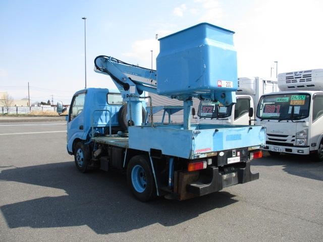 中古 高所・建柱車小型 日野デュトロ トラック H15 KK-XZU301X