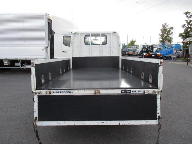 いすゞ エルフ 小型 平ボディ 床鉄板 SKG-NJR85A|トラック 背面・荷台画像 トラック市掲載