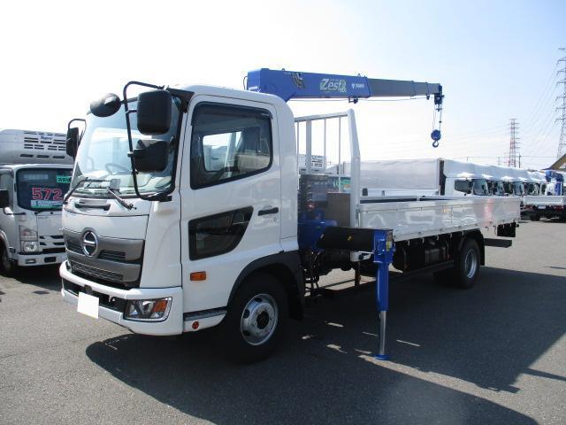 中古 クレーン付中型 日野レンジャー トラック H30 2KG-FC2ABA