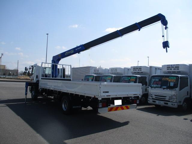 日野 レンジャー 中型 クレーン付 4段 ラジコン|車検 R3.3 トラック 画像 キントラ掲載