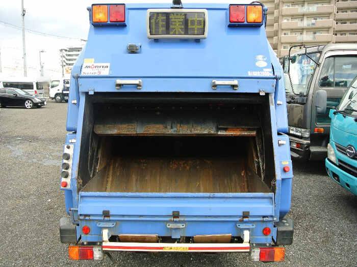 日野 デュトロ 小型 パッカー車 プレス式 SKG-XZU600X トラック 背面・荷台画像 トラック市掲載
