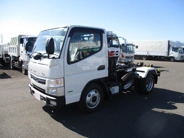 三菱 キャンター 小型 アームロール ツインホイスト TPG-FBA50|トラック 左前画像 トラックバンク掲載