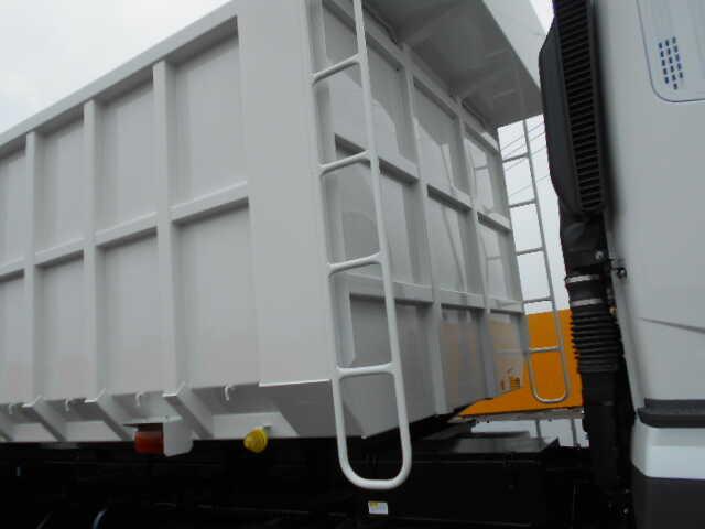 三菱 スーパーグレート 大型 ダンプ 土砂禁 ステンレス張り|エンジン トラック 画像 トラスキー掲載
