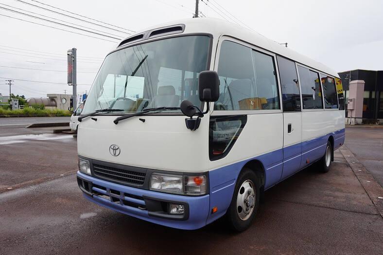 中古 バス小型 トヨタコースター トラック H19 PB-XZB50