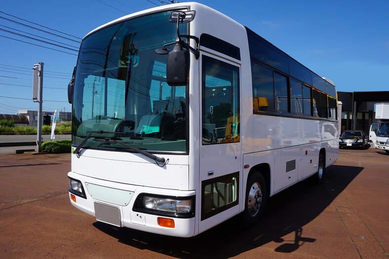 日産UD その他 中型 バス 観光バス KK-JM252GAN|トラック 左前画像 トラックバンク掲載
