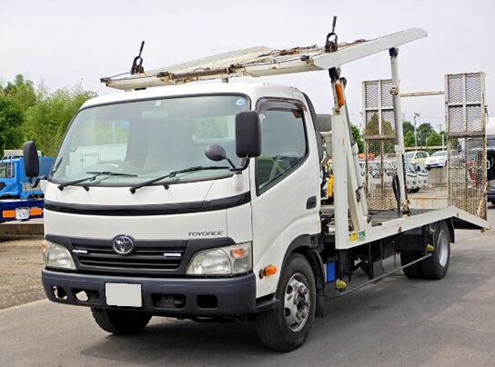 トヨタ トヨエース 小型 車輌重機運搬 ラジコン ウインチ|トラック 左前画像 トラックバンク掲載