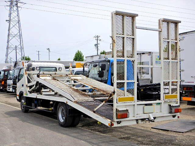 トヨタ トヨエース 小型 車輌重機運搬 ラジコン ウインチ|トラック 右後画像 リトラス掲載