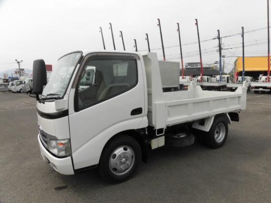 トヨタ ダイナ 小型 ダンプ BDG-XZU314D H20|トラック 左前画像 トラックバンク掲載