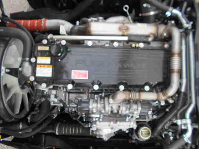 三菱 ファイター 中型 ウイング パワーゲート エアサス 画像9