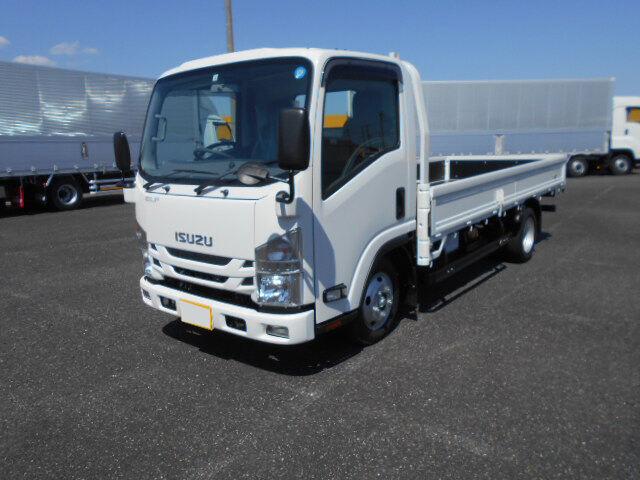 いすゞ エルフ 小型 平ボディ TRG-NMR85AR H30 トラック 左前画像 トラックバンク掲載