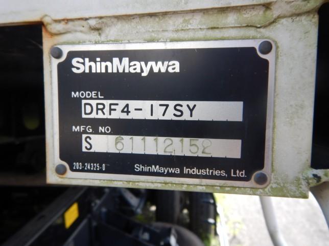 日野 レンジャー 中型 ダンプ Lゲート TKG-FC9JCAA|フロントガラス トラック 画像 トラック王国掲載