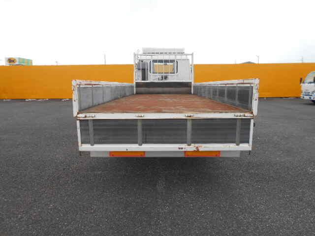 いすゞ フォワード 中型 平ボディ 床鉄板 ベッド トラック 背面・荷台画像 トラック市掲載