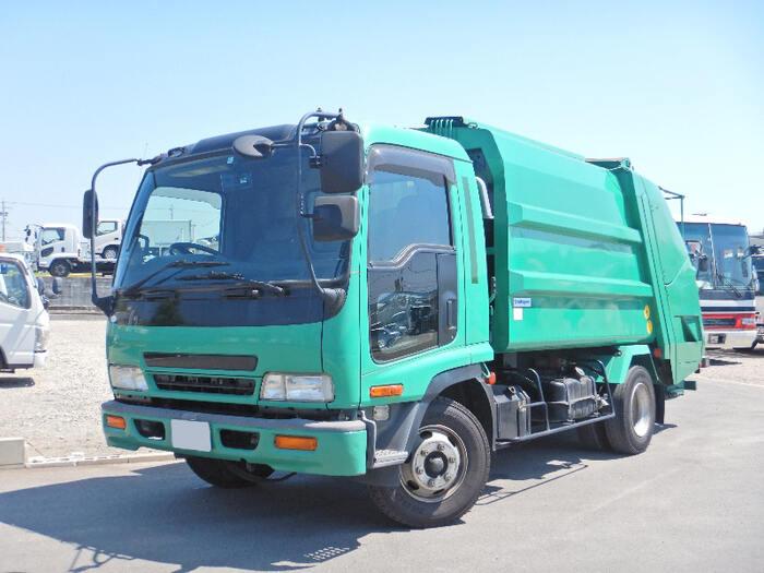 いすゞ フォワード 中型 パッカー車 プレス式 PB-FRR35D3S トラック 左前画像 トラックバンク掲載