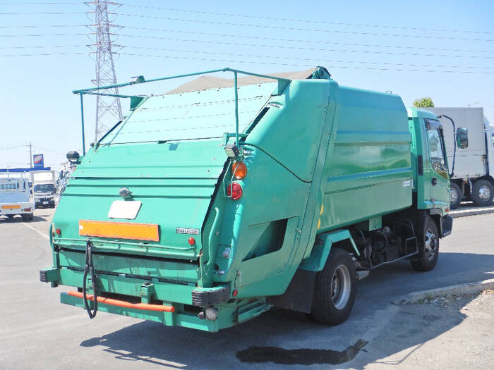 いすゞ フォワード 中型 パッカー車 プレス式 PB-FRR35D3S トラック 右後画像 リトラス掲載