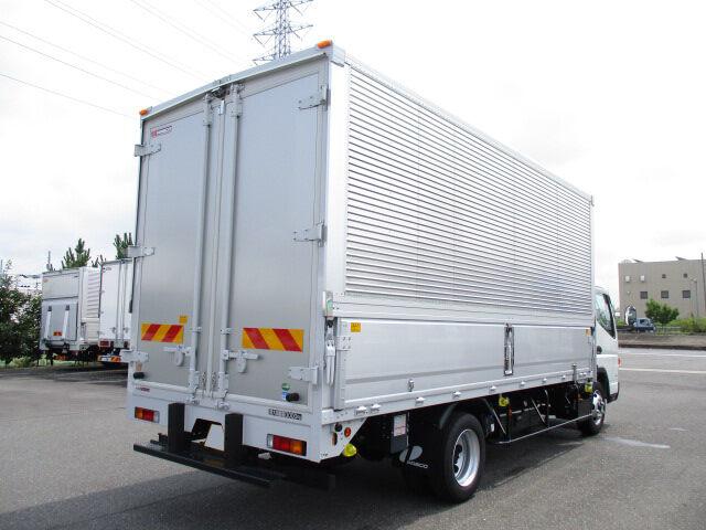 三菱 キャンター 小型 ウイング TPG-FEB80 H30|トラック 右後画像 リトラス掲載