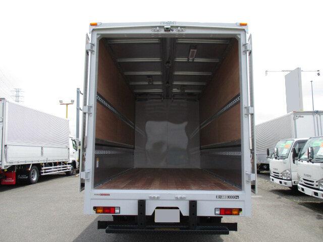 三菱 キャンター 小型 ウイング TPG-FEB80 H30|フロントガラス トラック 画像 トラック王国掲載
