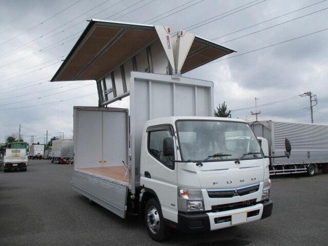 三菱 キャンター 小型 ウイング TPG-FEB80 H30|年式 H30 トラック 画像 トラックサミット掲載