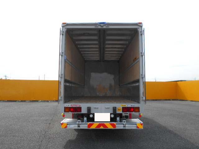三菱 ファイター 中型 ウイング パワーゲート エアサス 架装 フルハーフ トラック 画像 トラックバンク掲載