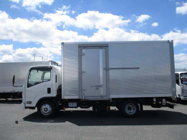 いすゞ エルフ 小型 アルミバン パワーゲート サイドドア|画像8