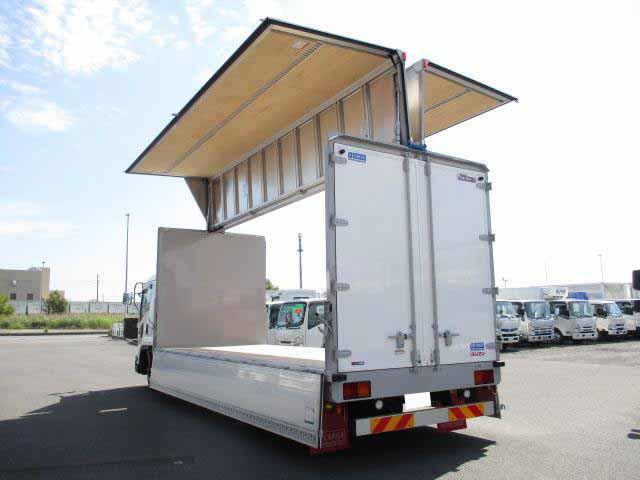 いすゞ フォワード 中型 ウイング エアサス ベッド|リサイクル券 12,460円 トラック 画像 トラック市掲載