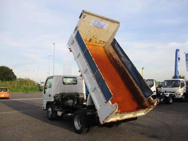 いすゞ エルフ 小型 ダンプ コボレーン TPG-NKR85AD|荷台 床の状態 トラック 画像 トラックサミット掲載