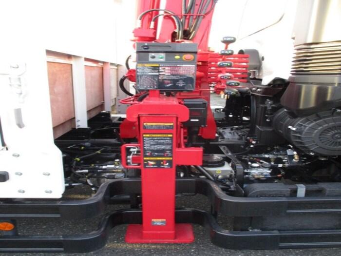 日野 レンジャー 中型 クレーン付 4段 ラジコン|型式 2PG-FE2ABA トラック 画像 栗山自動車掲載