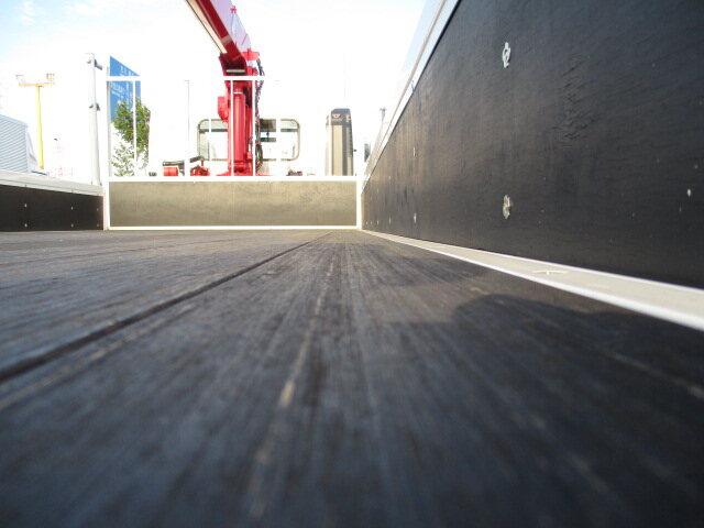 日野 レンジャー 中型 クレーン付 4段 ラジコン|積載 7.7t トラック 画像 ステアリンク掲載