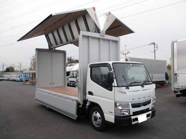 中古 ウイング小型(2トン・3トン) 三菱キャンター トラック H31/R1 TPG-FEA50