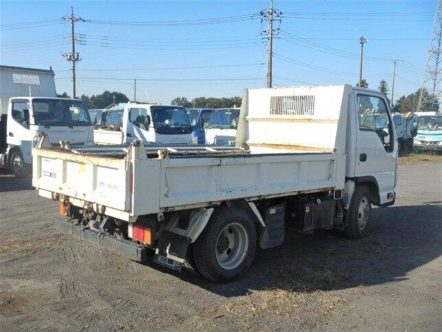 いすゞ エルフ 小型 ダンプ コボレーン TDG-NKS85AN トラック 右後画像 リトラス掲載
