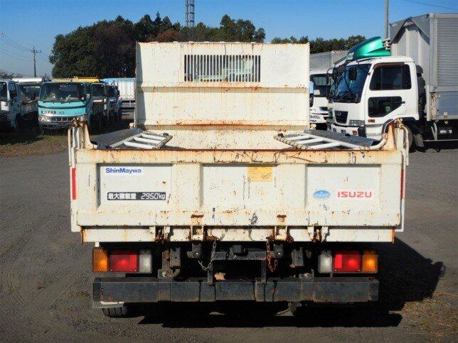 いすゞ エルフ 小型 ダンプ コボレーン TDG-NKS85AN トラック 背面・荷台画像 トラック市掲載