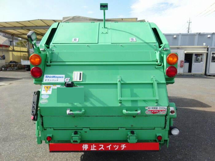 いすゞ エルフ 小型 パッカー車 プレス式 TKG-NMR85AN 画像3