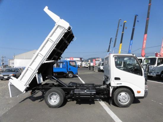 日野 デュトロ 小型 ダンプ 強化 TKG-XZU620T|トラック 右後画像 リトラス掲載