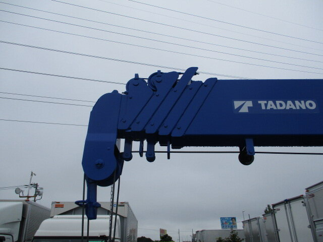 三菱 キャンター 小型 クレーン付 6段 ラジコン|型式 2PG-FEB90 トラック 画像 栗山自動車掲載