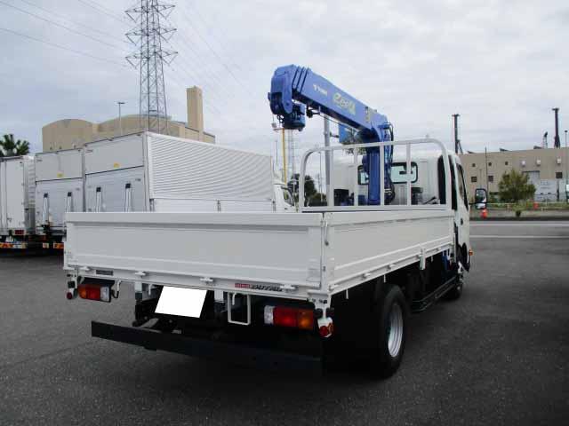 日野 デュトロ 小型 クレーン付 4段 ラジコン|トラック 右後画像 リトラス掲載