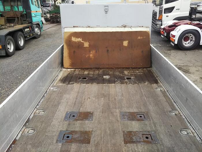 日野 レンジャー 中型 平ボディ アルミブロック ベッド|型式 ADG-FD7JKWA トラック 画像 栗山自動車掲載