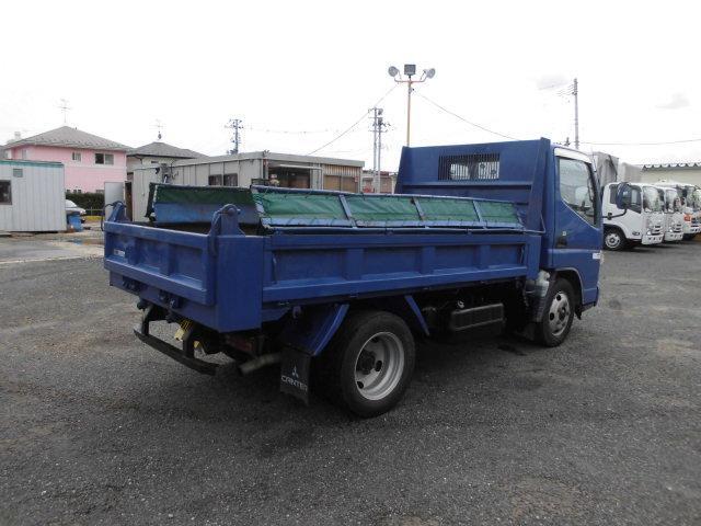 三菱 キャンター 小型 ダンプ コボレーン PA-FE71DBD 画像2