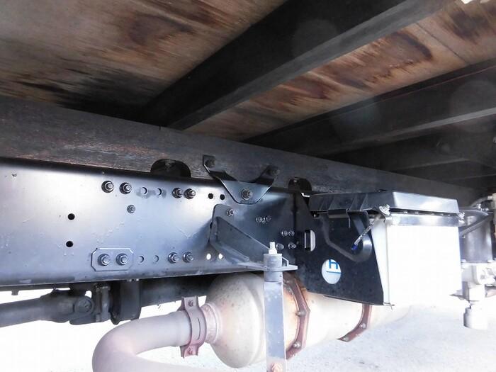 三菱 ファイター 中型 平ボディ 床鉄板 ベッド|積載 3.4t トラック 画像 ステアリンク掲載
