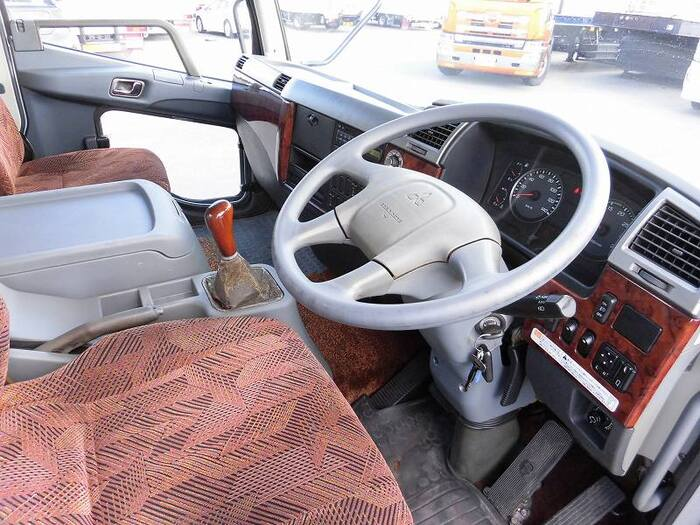 中古 平ボディ中型 三菱ファイター トラック H19 PDG-FK71F
