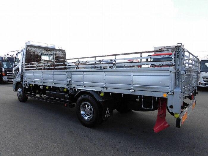 三菱 ファイター 中型 平ボディ 床鉄板 ベッド|トラック 背面・荷台画像 トラック市掲載