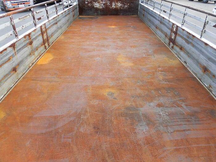 三菱 ファイター 中型 平ボディ 床鉄板 ベッド|年式 H19 トラック 画像 トラックサミット掲載
