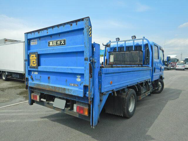マツダ タイタン 小型 平ボディ Wキャブ パワーゲート|トラック 右後画像 リトラス掲載