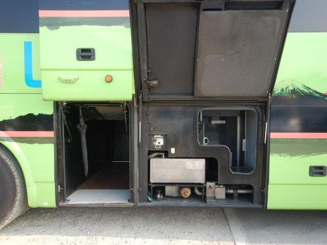 三菱 エアロクイーン 大型 バス 観光バス BKG-MS96JP|フロントガラス トラック 画像 トラック王国掲載