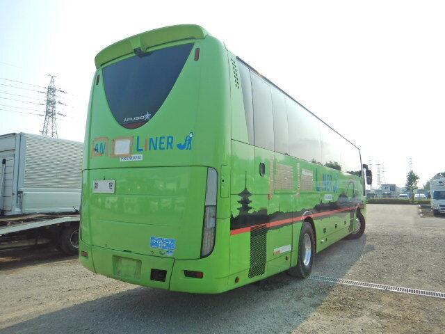 三菱 エアロクイーン 大型 バス 観光バス BKG-MS96JP|トラック 右後画像 リトラス掲載